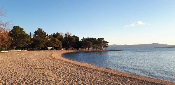 Plaža Crni Molo - Crikvenica
