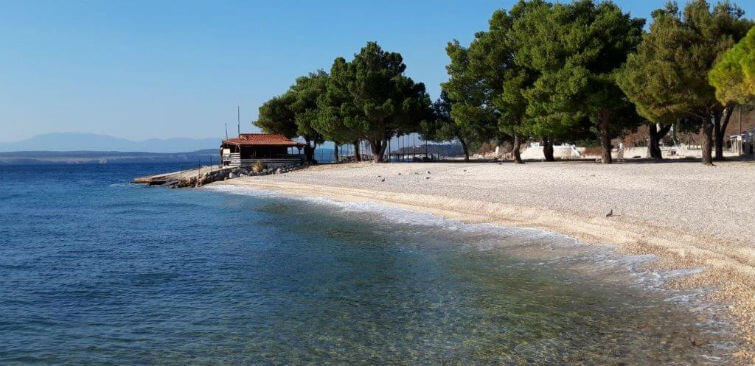 Plaža Omorika - Dramalj